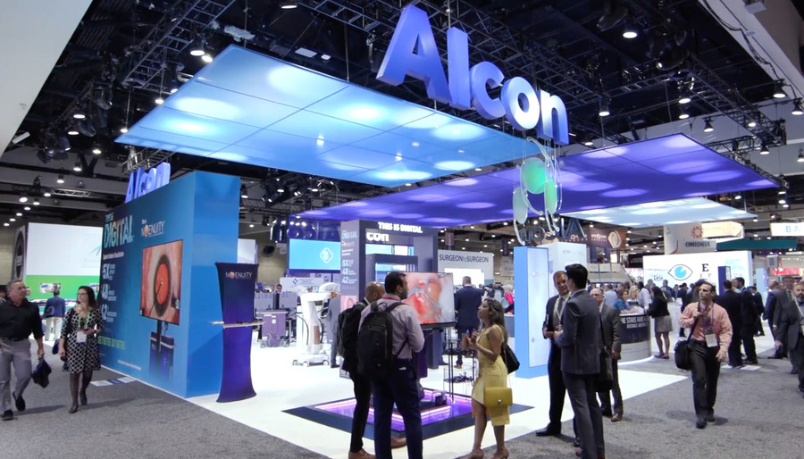 How Alcon Uses Trade Shows to Help Doctors Help Patients
